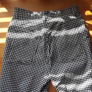 Ralph Lauren Pants - Ralph Lauren Houndstooth Capri Pants